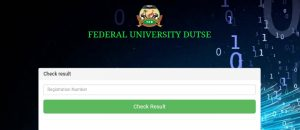 FUD 2018/2019 Post UTME Result