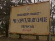 unizik pre science program