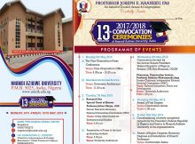 UNIZIK AWKA 13TH CONVOCATION