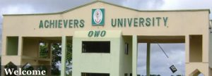 achievers university postgraduate form