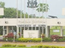 list of courses offered in unilorin